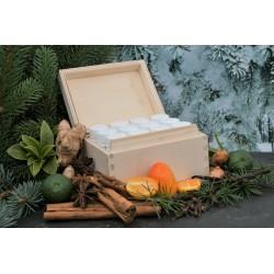 Winter/Weihnacht - Kisterl mit äth. Ölen